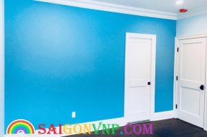 Màu sơn xanh dương