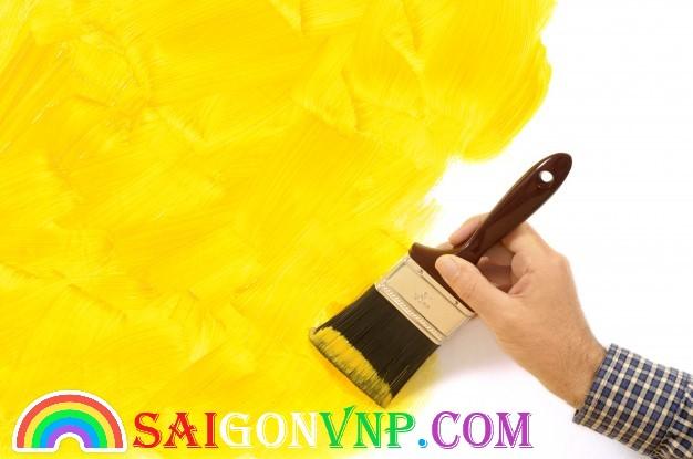 Màu vàng sơn chổi