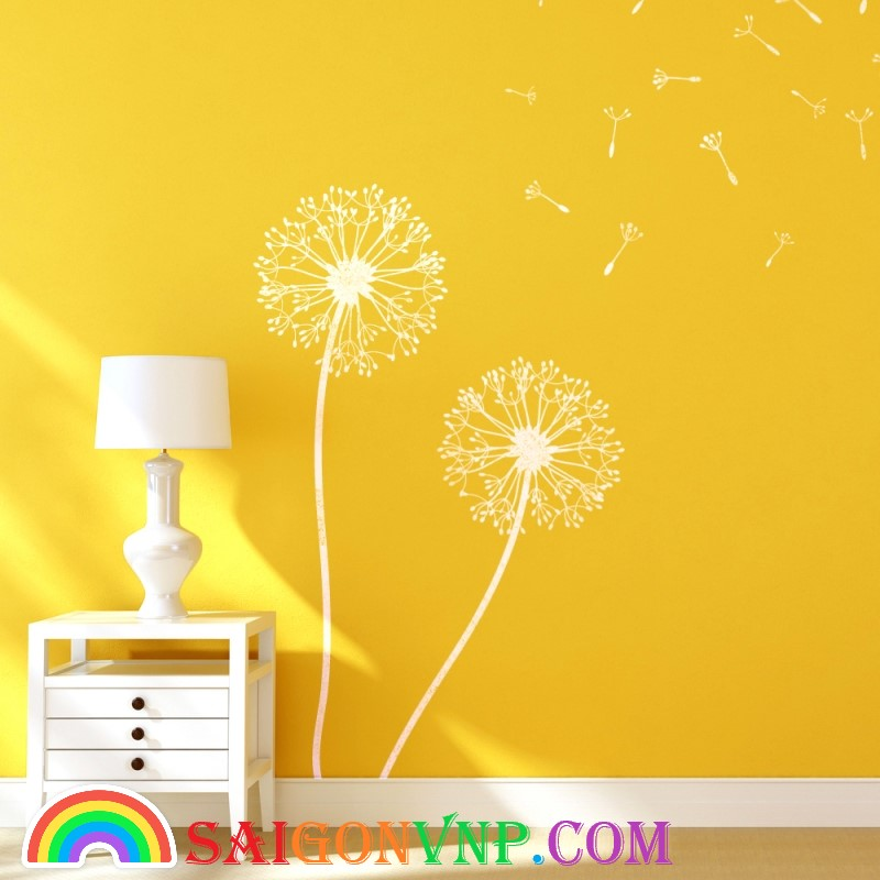 Màu sơn vàng cam tươi